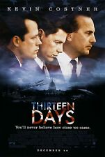 Thirteen Days Original Double-Sided One Sheet Rolled Movie Poster 27x40 NEW 2000