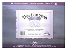 "Daler Rowney Langton Acuarela Block-Rough 12 ""x 9"""