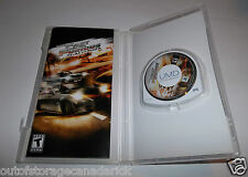Fast and the Furious (PlayStation Portable, 2007) Instructions Included