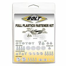BOLT HONDA FULL PLASTIC FASTENER KIT CR125 CR250 00-07 CRF450 00-04 Motocross Mx