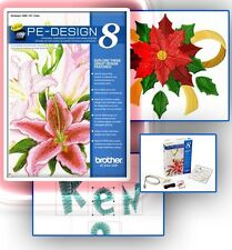Brother PE Design 8.0 Embroidery Software Lettering & Monogramming