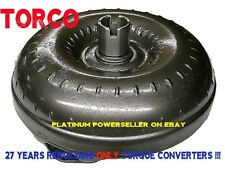 "TH350 Torque Converter 2300-2600 12"" Chevy High Stall Heavy Duty Non-Lockup"