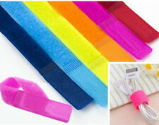 14x Straps Wrap Wire Organizer Cable Tie Rope Holder For Laptop PC TV HOT
