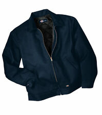 DICKIES TJ15 LINED EISENHOWER MENS WORK JACKET/COAT NAVY BLUE
