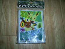 Pokemon Deck Shield Eevee Collection Type B Leafeon Card Sleeve 32 Sheets