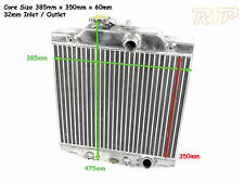 UNIVERSAL KIT TRACK PROJECT CAR ALLOY RADIATOR CORE SIZE 385x350x60mm Pre Order