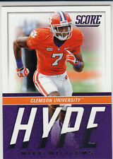 2017 Score Mike Williams Hype RC San Diego Chargers Los Angeles Chargers