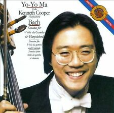 Bach: Sonatas for Viola da Gamba and Harpsichord Yo-Yo Ma MUSIC CD