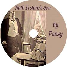 Ruth Erskine's Son, Isabella Alden Pansy Classic Audiobook on 1 MP3 CD