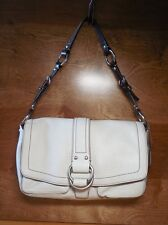 Coach Chelsea Beige Pebbled Leather Hobo Handbag F10893
