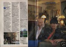 Coupure de presse Clipping 1966 Bernard & Annabel Buffet  (2 pages)