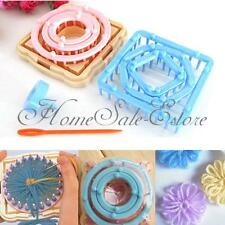 9pcs Flower Daisy Pattern Knitting Loom Maker Wool Yarn Needle Knit Craft Tool
