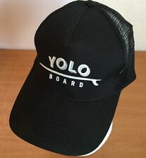 Yolo Board Hat Cobra Snapback Baseball Cap Mesh Black One Size