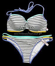 BNWT Victoria's Secret Swim 32D/70D bra/top/bikini & bottoms M beach holiday new