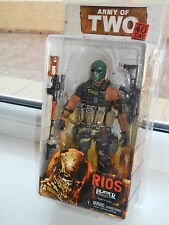 ARMY OF TWO 40th Day Rios Action Figure NECA - BRAND NEW! VERY RARE! HOT PRICE!