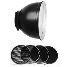 Jinbei 55 Degree Studio Flash Reflector with Honey Comb Kit for Jinbeis, Bowens
