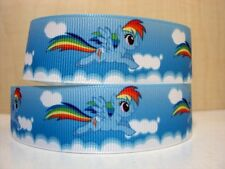 "Rainbow Dash My Little Pony Ribbon 1"" Wide NEW UK SELLER"