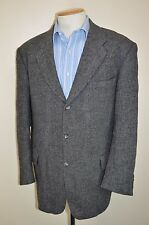 "vtg HARRIS TWEED WOOL HERITAGE COUNTRY HAND WOVEN SMART JACKET BLAZER 48"" CHEST"