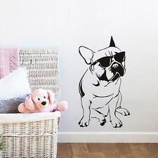 Handsome French Bulldog Sticker Animal Wall Decal Interior Home Decor Dog Art