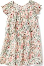 Old Navy Baby Size 6-12 Months MOS Floral Cotton Dress NWT