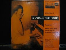 Pioneers Of Boogie Woogie Riverside Records RLP 1009 Vinyl LP 10""