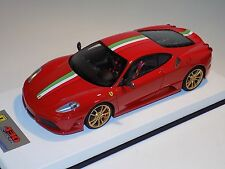 1/18 Looksmart MR Ferrari F430 Scuderia Rosso Corsa Red /Italian Leather 25 pcs
