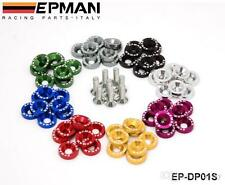 EPMAN 8 Pcs M6X20 ENGINE BUMPER FENDER WASHERS KIT BOLT SCREW fits HONDA CIVIC