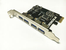 4 Port SuperSpeed USB 3.0 PCIe Card for *Apple Mac Pro *Native OSX10.8 to 10.12