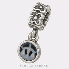 Authentic Pandora Sterling Silver Libra Cameo Dangle Bead 790500CAM10