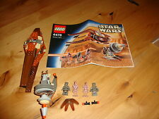 Star Wars Lego 4478 Geonosian Fighter 100% Complete