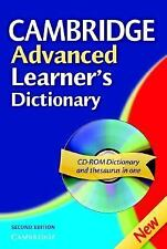 Cambridge Advanced Learner's Dictionary Paperback with CD-ROM, Cambridge, Good B