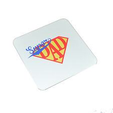Super Dad Coaster Fathers Day or Birthday Gift