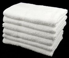 Wholesale Bulk Buy White Hand Towels 100% Cotton Budget Quality 320 GSM 72 pcs