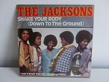 THE JACKSONS Shake your body EPC 7124