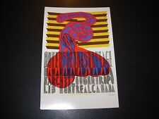 QUEENS OF THE STONE AGE Montreal 2005 Handbill Postcard print poster Seripop
