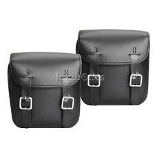 2x Tool Side Bag Saddlebag Luggage For Harley Davidson V-Rod Night Street V Rod