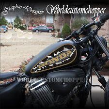 GRAFICA STRAPPO GOCCIA SERBATOIO HONDA VT 600 SHADOW MOTO CUSTOM CHOPPERS