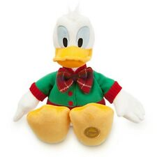 """HOLIDAY DONALD DUCK PLUSH 13"""" NWT GENUINE ORIGINAL DISNEY STORE PATCH ON FOOT"""