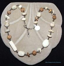 Silpada Howlite African Opal Necklace 925 Sterling Silver N1692