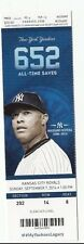 2014 NY YANKEES DEREK JETER RETIREMENT CEREMONY DAY TICKET STUB 9/7 RIVERA