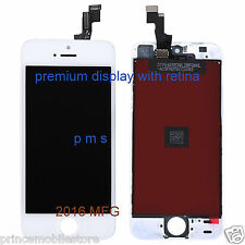 premium iPhone 5S LCD Display Touch Screen Digitizer Assembly - white  color