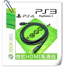 ORIGINAL Microsoft XBOX360 PS3 PS4 Bluray HD HDMI high-definition video cable