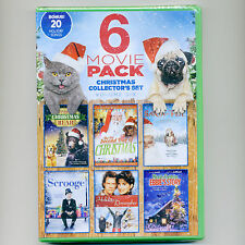 6 Christmas family movies, new DVDs Miracle, Santa, Bear, Scrooge, Holiday songs
