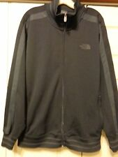 THE NORTH FACE A5 SERIES TRACK JACKET.....MEN'S LARGE....BLACK/GREY