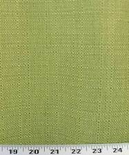 Drapery Upholstery Fabric Rustic Linen Slub Withstands 45K Dbl Rubs - Apple