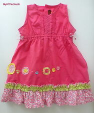Catimini*** Ravissante Robe/Dress  18 mois / 81 cm rose fushia