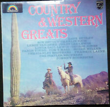 VARIOUS ARTISTS - COUNTRY AND WESTRN GREATS VINYL LP AUSTRALIA