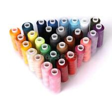 30 Spools 250Yd Polyester Sewing Quilting Embroidery Thread for Hand Machine