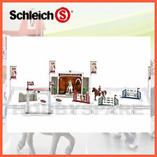 NEW SCHLEICH BIG HORSE SHOW EXPANDED TOURNAMENT SET 42338 EQUESTRIAN