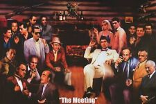 THE MEETING - MOVIE & TV GANGSTERS - ART POSTER 24x36 - 91